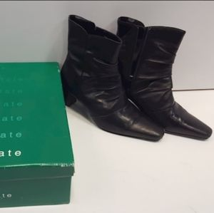 David Tate Ankle Leather Boots